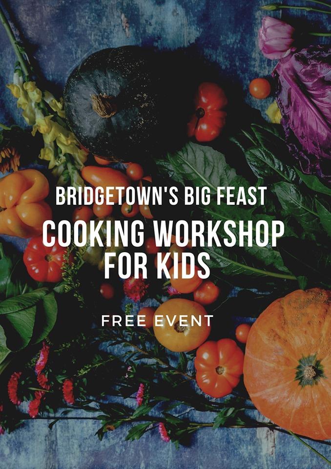 Cooking workshop for kids fluer