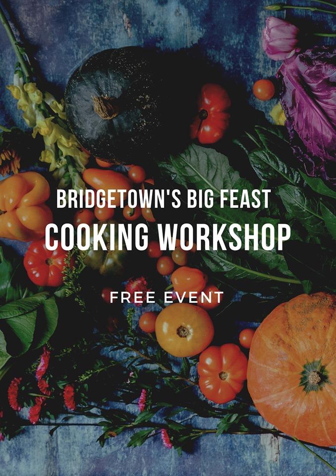 Bridgetown cooking workshop flyer