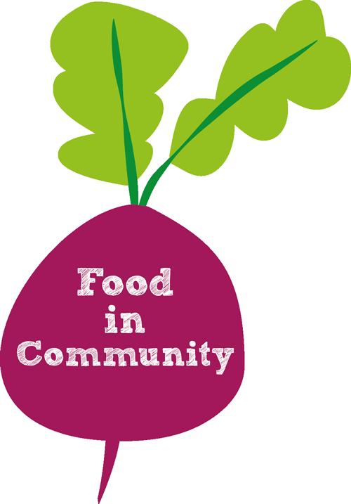 Food In Community radish logo