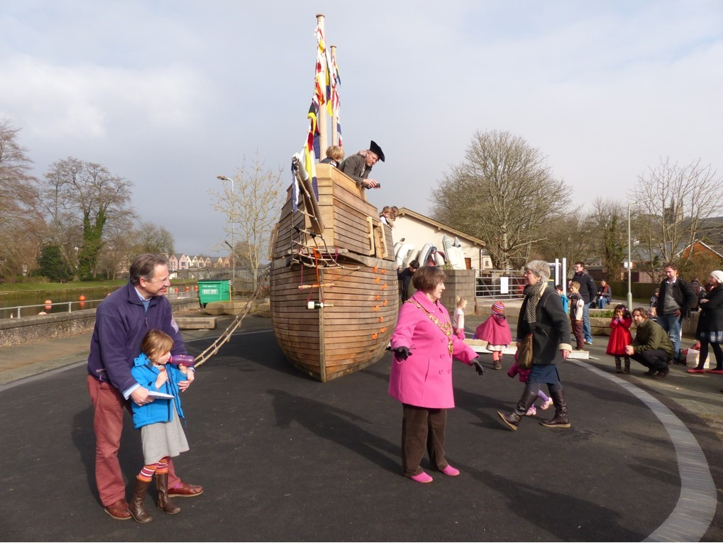 children pirate ship play area